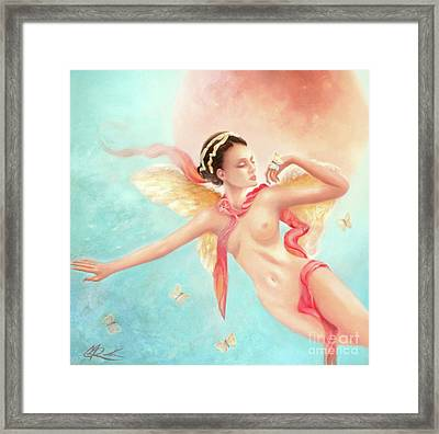 Framed Print featuring the painting Rhapsody by Michael Rock