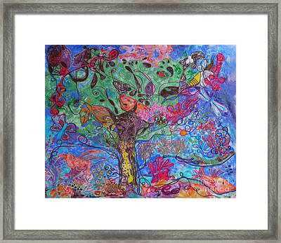 Rhapsody Of Joy Framed Print