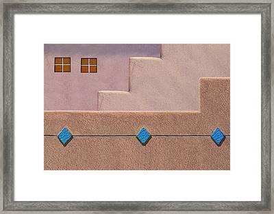Rhombus Framed Print by Paul Wear