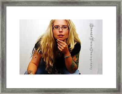 Rhonda Depalma Framed Print by Rhonda DePalma