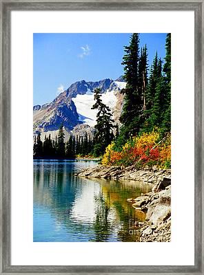 Rhor Lake Framed Print