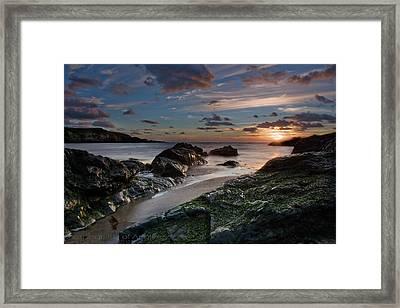 Rhosneigr Sunset  Framed Print