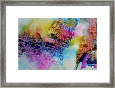 Framed Print featuring the painting Rhythm And Blues by Mary Sullivan