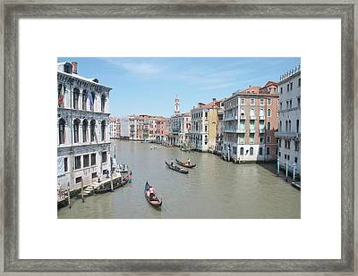 Rialto View Framed Print by A Goadby