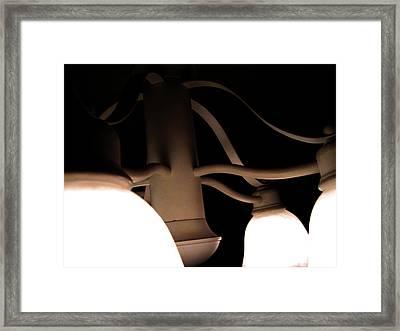 Ribbons Of Light Framed Print by Jeremy Martinson