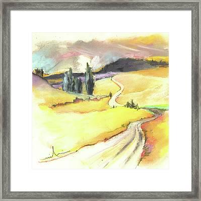 Ribera Del Duero In Spain 03 Framed Print by Miki De Goodaboom