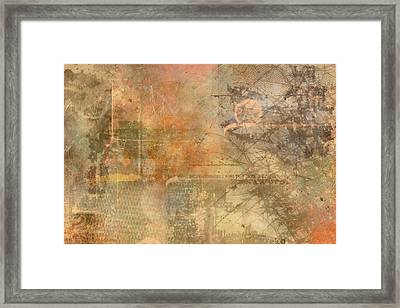 Rice Paper Framed Print by Christopher Gaston