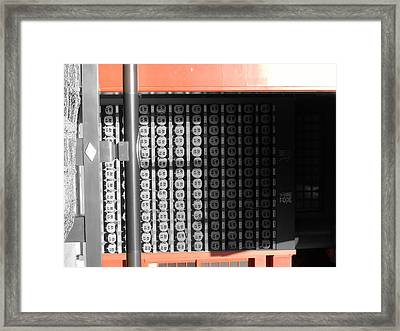 Rice Storage Framed Print by Naxart Studio