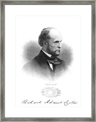 Richard Adams Locke Framed Print by Granger