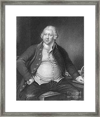Richard Arkwright, English Industrialist Framed Print by Photo Researchers