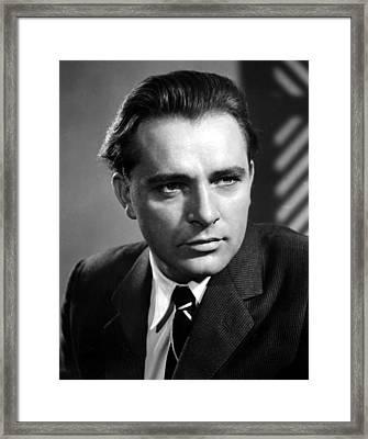 Richard Burton, 1950s Framed Print