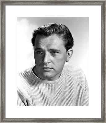 Richard Burton, 1957 Framed Print