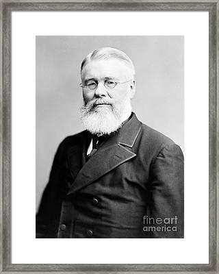 Richard Jordan Gatling, American Framed Print by Photo Researchers