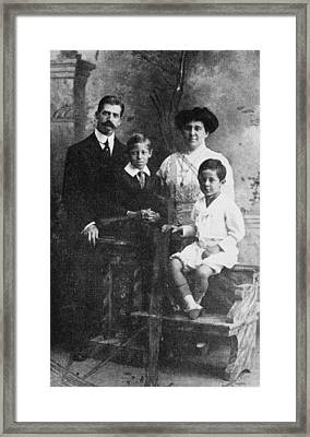 Richard Rodgers Second From Left Framed Print