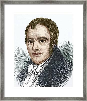 Richard Trevithick, British Engineer Framed Print