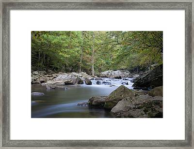 Richland Creek Framed Print by David Troxel