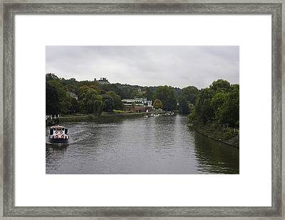 Framed Print featuring the photograph Richmond Cruise by Maj Seda