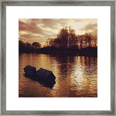 #richmond #london Framed Print