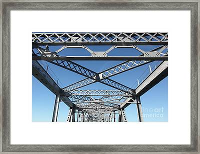 Richmond-san Rafael Bridge In California - 5d19542 Framed Print