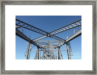 Richmond-san Rafael Bridge In California - 5d19548 Framed Print