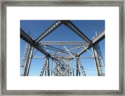 Richmond-san Rafael Bridge In California - 5d19549 Framed Print