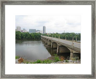 Richmond. Virginia. 2008 N01 Framed Print