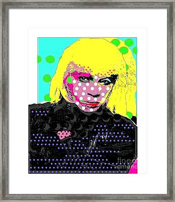 Ricky Framed Print by Ricky Sencion