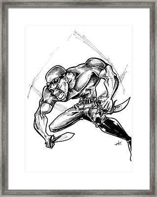 Riddick Framed Print by Big Mike Roate