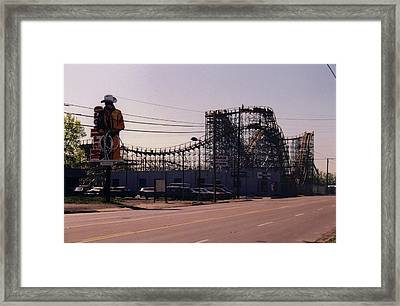 Framed Print featuring the photograph Ride It Cowboy by Stacy C Bottoms