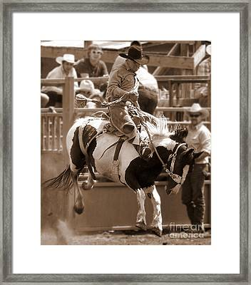 Ride Framed Print by KD Johnson