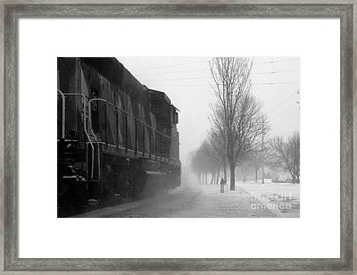 Ride The Reading Framed Print by Joel Witmeyer