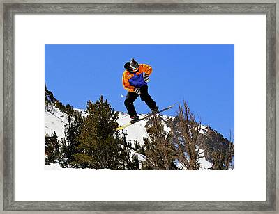 Ride Utah Framed Print