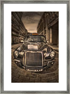 Ride With Me Framed Print