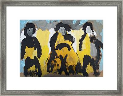 Riders Of The Purple Sage Framed Print by Jay Manne-Crusoe
