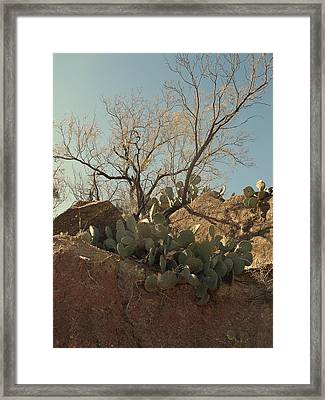 Framed Print featuring the photograph Ridgeline by Louis Nugent