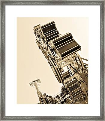 Riding High Framed Print by Mike Martin