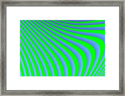 Riding The Wave Framed Print by Carolyn Marshall