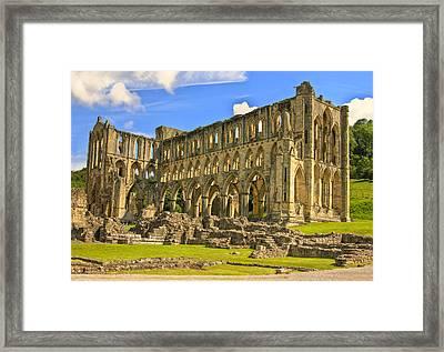 Rievaulx Abbey Ruins Framed Print by Trevor Kersley