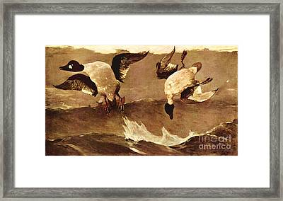 Right And Left Framed Print by Pg Reproductions