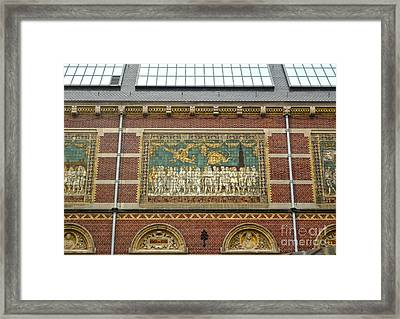 Rijksmuseum- 01 Framed Print by Gregory Dyer