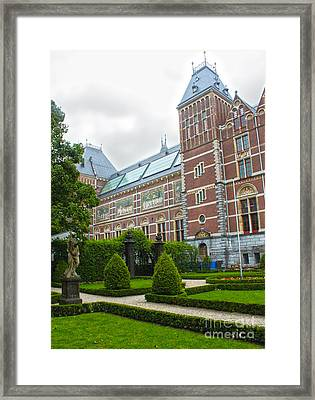 Rijksmuseum- 02 Framed Print by Gregory Dyer