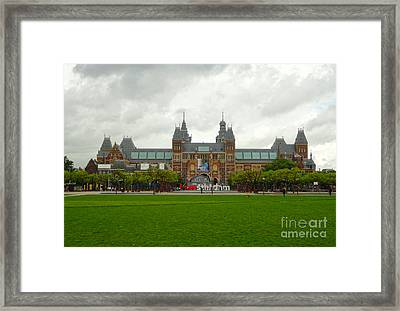 Rijksmuseum- 04 Framed Print by Gregory Dyer