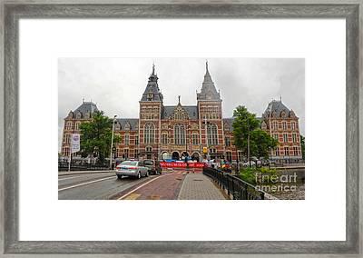Rijksmuseum- 06 Framed Print by Gregory Dyer