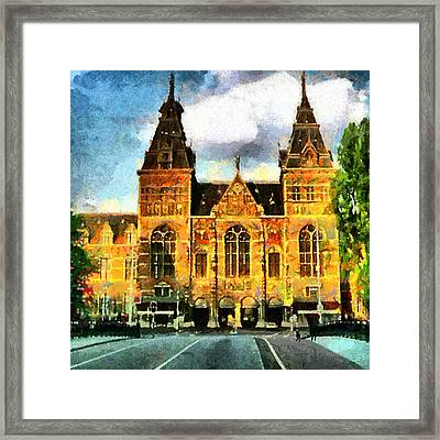 Rijksmuseum Framed Print by Anthony Caruso