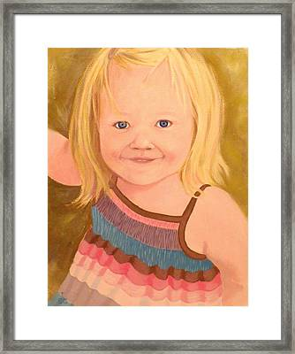 Riley Framed Print
