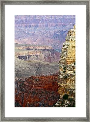 Rim Shot Framed Print