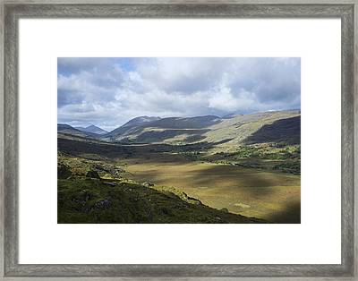 Framed Print featuring the photograph Ring Of Dingle by Hugh Smith