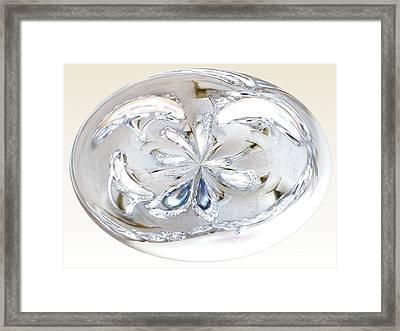 Ringletz Framed Print by Laurence Oliver
