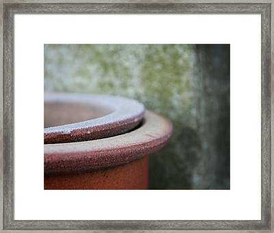 Rings Framed Print by Odd Jeppesen