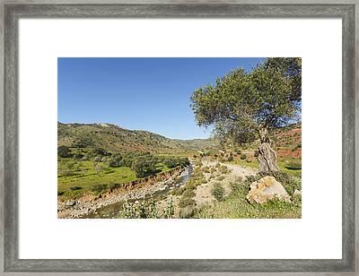 Rio De Cauche, Malaga Province, Spain. Framed Print by Ken Welsh